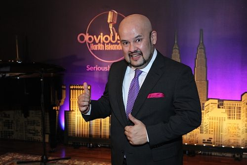 obviously harith iskander awani
