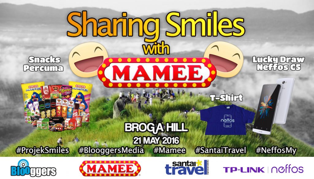 Sharing Smiles With Mamee Neffos Malaysia Broga Hill