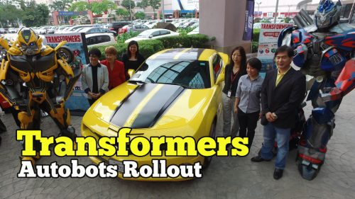 Koleksi Transformers Autobots Rollout Di 1 Utama Shopping Centre