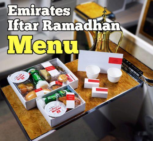 Kotak Iftar Ramadhan Dalam Penerbangan Emirates