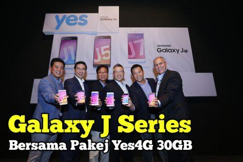Samsung Galaxy J Series 2016 Dengan Pakej Yes4G 30GB