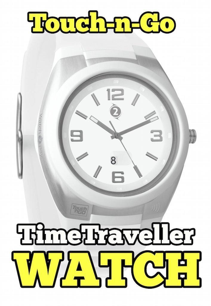 TimeTraveller Watch Touch-N-Go Pertama Di Malaysia