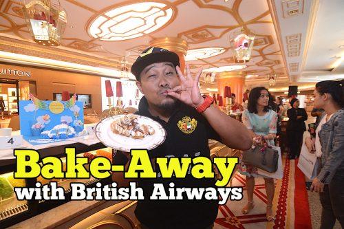 Siapa Menang Bake-Away With British Airways