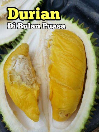 Makan Buffet Durian Kampung Murah RM10 Bulan Puasa