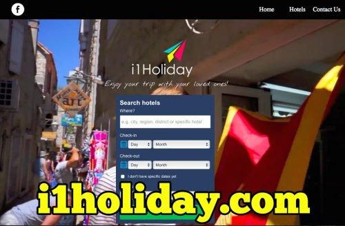 i1Holiday.com Laman Web Carian Hotel Murah Terbaik