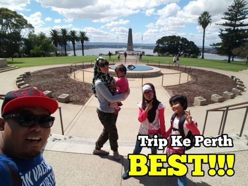 Berakhirnya Trip Sekeluarga Melancong Ke Perth