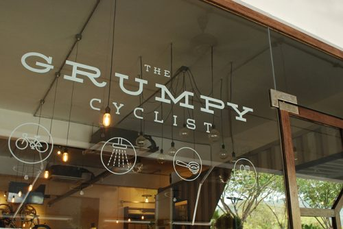the grumpy cyclist
