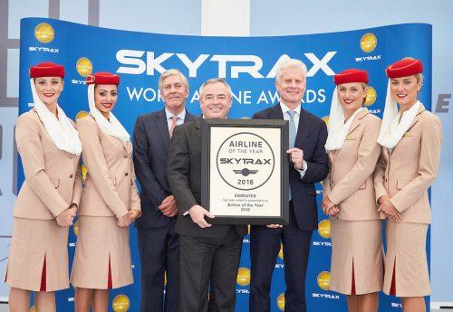Emirates Syarikat Penerbangan Terbaik Dunia 2016 Oleh Skytrax