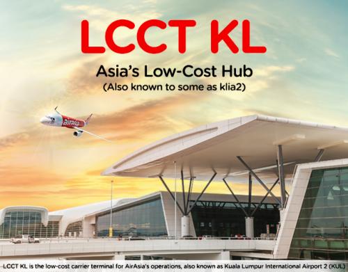 AirAsia Mahu KLIA2 DiKenali Sebagai LCCT KL