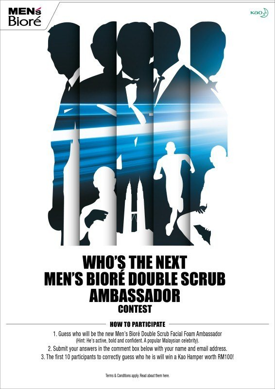 Who's The Next Men's Bioré Double Scrub Ambassador Contest