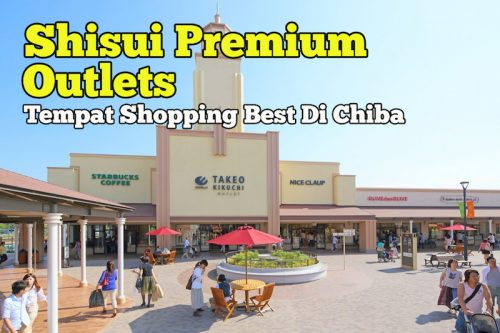 Shisui Premium Outlets Di Chiba Tempat Shopping Best