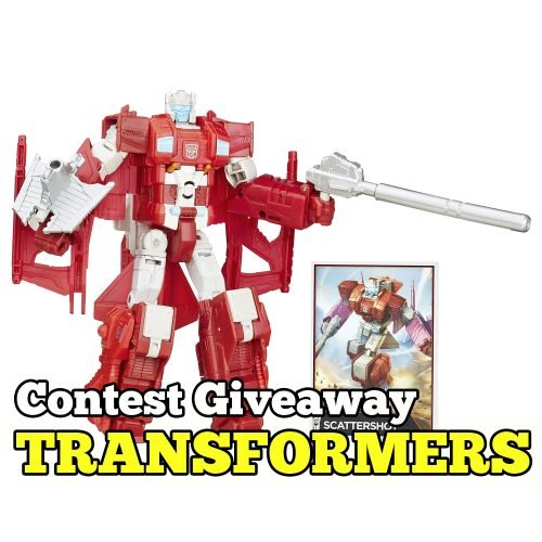 Contest Giveaway TRANSFORMERS Generations Voyager Class