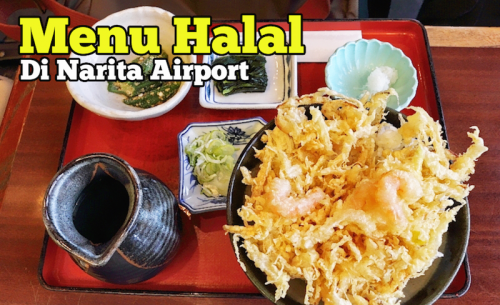 Menu Halal Di Restoran Dalam Narita International Airport