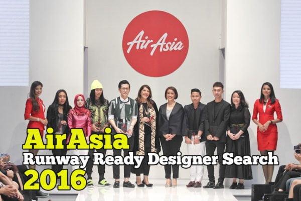 AirAsia Runway Ready Designer Search Ready To Wear 2016 Di KLFWRTW berlangsung dengan meriahnya di Pavilion Kuala Lumpur bersempena dengan Minggu Fesyen