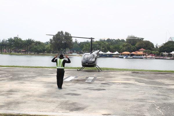 KL Sky Tour Titiwangsa Pakej Murah Naik Helicopter