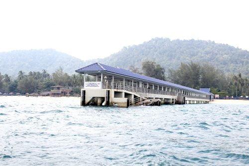 Pulau Besar di Mersing