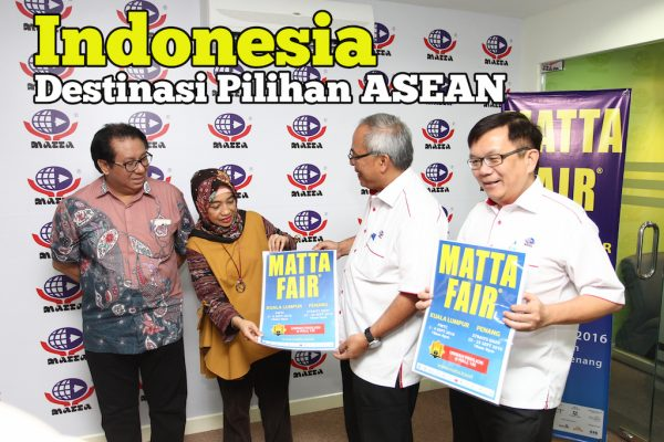 Indonesia Sebagai ASEAN Favourite Destination Di MATTA Fair 2016
