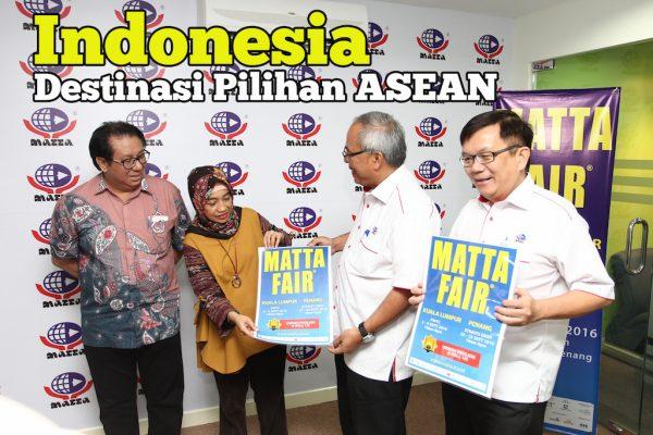 Indonesia Sebagai ASEAN Favourite Destination Di MATTA Fair 2016