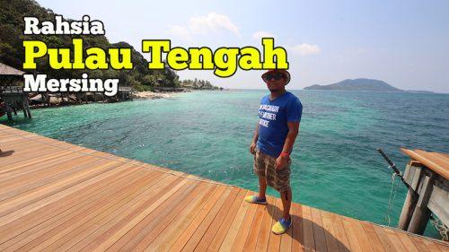Rahsia Cantiknya Pulau Tengah Di Mersing Batu Batu Resort