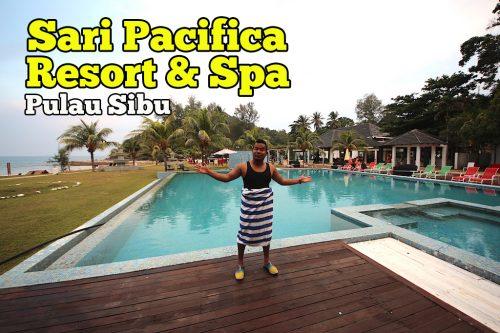 Sari Pacifica Resort And Spa Pulau Sibu Unik Dan Tersendiri