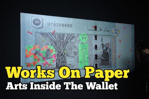 Pelancaran Pameran Matawang Works On Paper Art Inside Wallet
