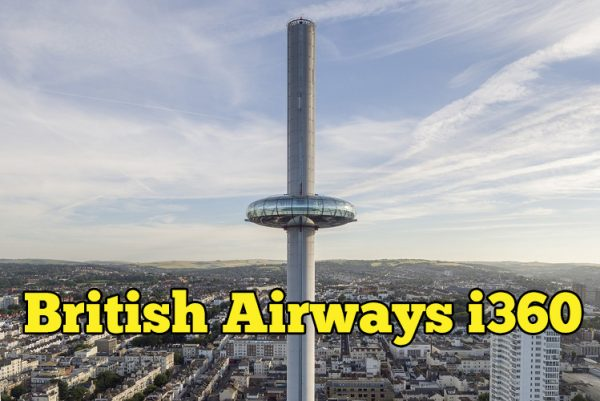 British Airways i360 Tarikan Terbaru Di Brighton London