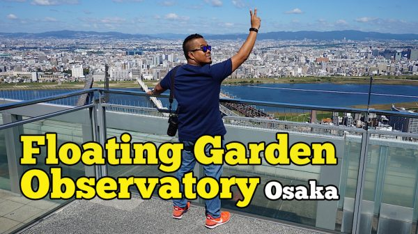 Floating Garden Observatory Di Umeda Sky Building Osaka