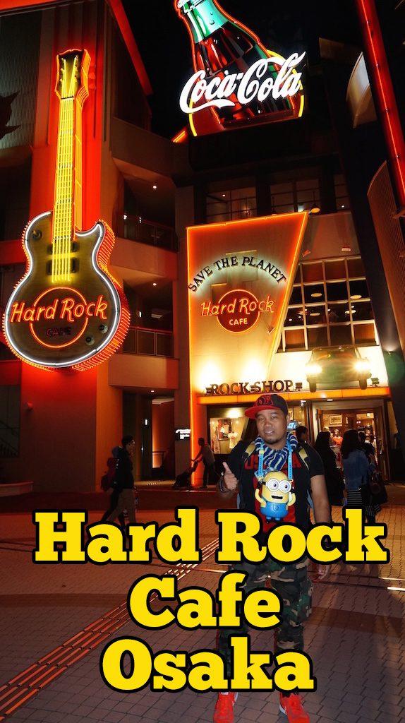 Lokasi Hard Rock Cafe Osaka Untuk Anda Kunjungi