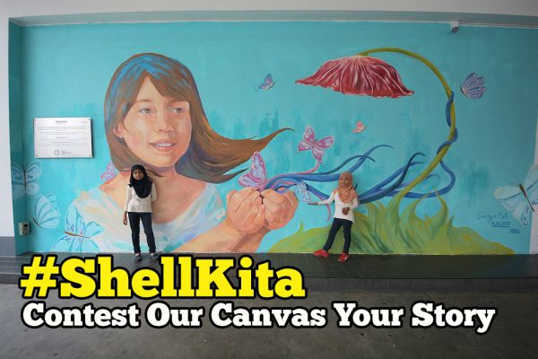 Menang RM500 Dengan Contest Our Canvas Your Story #ShellKita