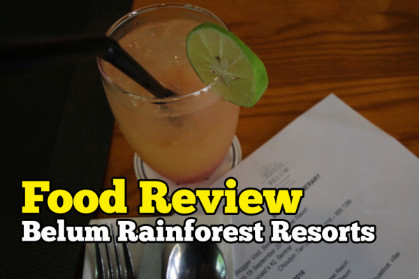 Food Review Belum Rainforest Resorts Cafe