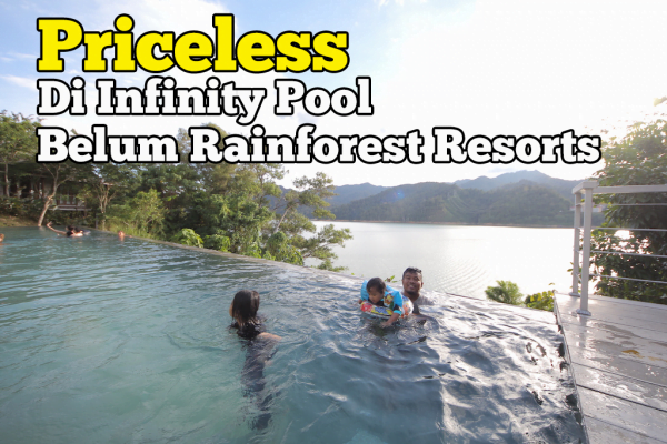 Infinity Pool Di Belum Rainforest Resorts Yang Priceless