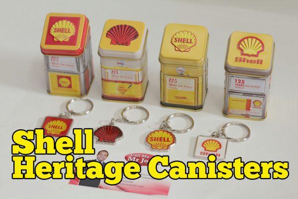 Shell Heritage Canisters Koleksi Edisi Terhad 125th Anniversary