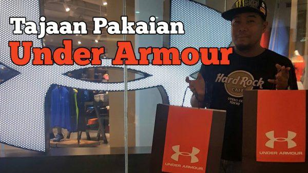 Tajaan Pakaian Dari Under Armour Malaysia