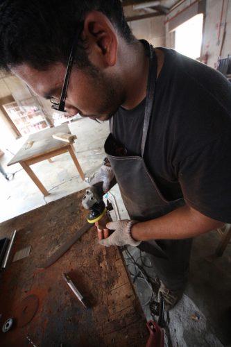 Pembuatan Parang dan Golok Kuala Pilah
