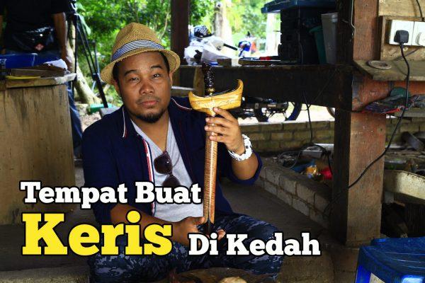 Penggambaran Cara Membuat Keris dan Golok di Kedah