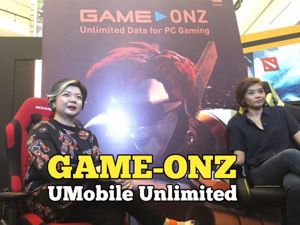 Game-Onz U Mobile Pakej Data Prabayar Tanpa Had