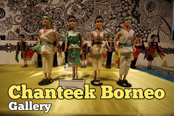 Melawat Chanteek Borneo Gallery Untuk Kali Kedua
