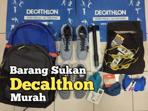 Barang Sukan Decathlon Murah Dan Berbaloi Bandar Sri Damansara