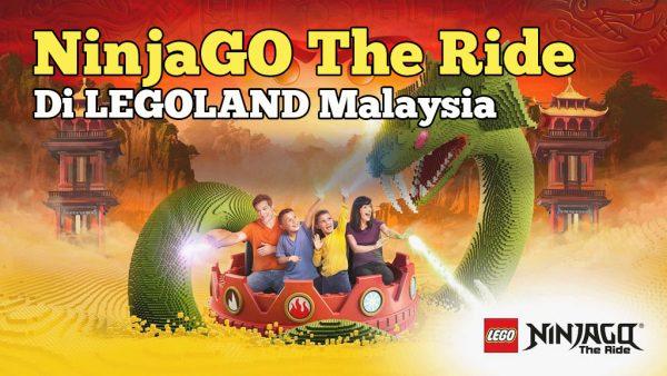 Pengalaman Menaiki NinjaGo The Ride Di Legoland Malaysia