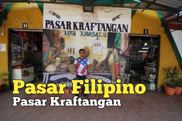 Beli Mutiara Di Pasar Filipino Atau Pasar Kraftangan Kota Kinabalu