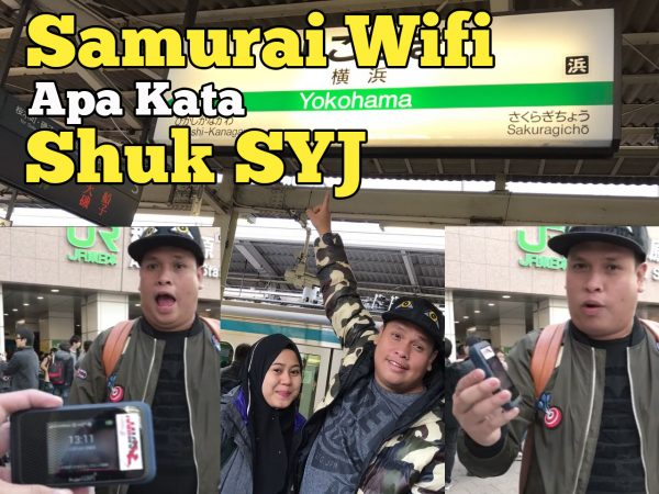 Apa kata Pelawak Shuk SYJ Tentang Samurai WiFi Di Jepun