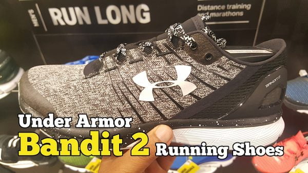 Review Under Armour Bandit 2 Running Shoes Yang Hebat