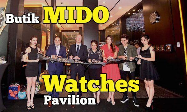 Perasmian Butik MIDO Watches Di Elite Pavilion