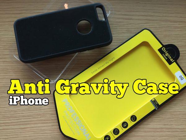 Anti Gravity Phone Case Cover iPhone Melekat di Dinding
