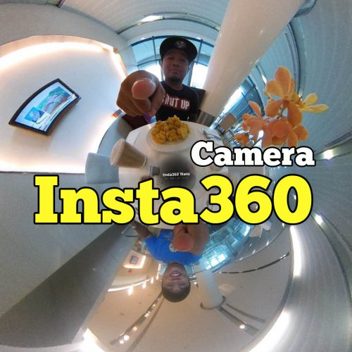Saya Review Camera Insta360 Nano Edisi iOS Gambar Dan Video