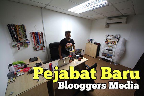 Memperkenalkan Pejabat Baru Blooggers Media Di Ara Damansara