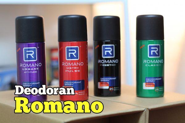 Wangian Semburan Deodoran Romano Untuk Lelaki
