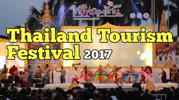 Thailand Tourism Festival 2017 Di Lumphini Park Bangkok