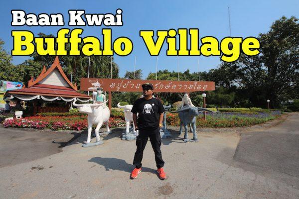 Kampung Unik Baan Kwai Buffalo Village Suphanburi