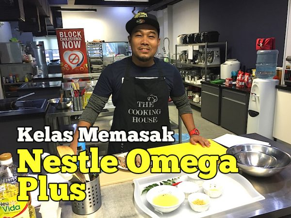 Kelas Memasak Nestlé Omega Plus Di The Cooking House Bangsar